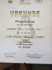 pinguin cup